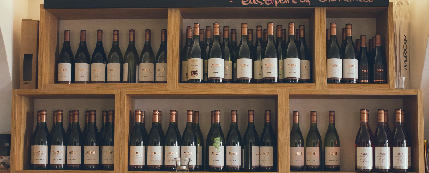 Wine list Croatia and Serbia